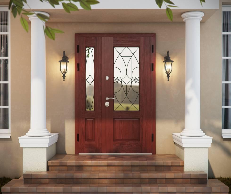 металлические уличные двери от производителя для дачи в домодедово